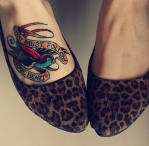 Foot Tattoo For Girls idea
