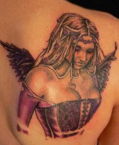 Angel wings tattoos ideas