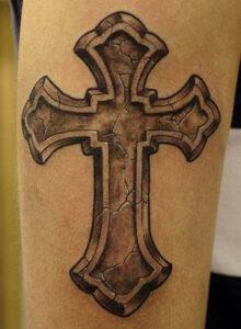 cross tattoo idea