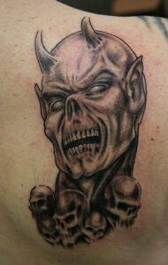 devil tattoo idea